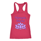 Namaste, Bitches Ladies Racerback Tank Top - Audio Swag