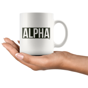 Alpha Mug - Audio Swag