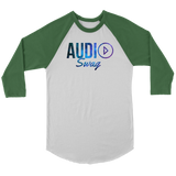 Audio Swag Cosmo Logo Raglan - Audio Swag