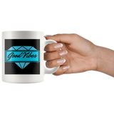 Good Vibes Diamond Mug - Audio Swag