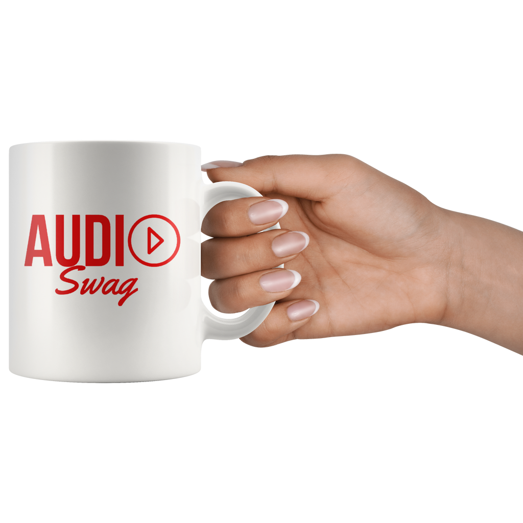 Audio Swag Red Logo Mug - Audio Swag
