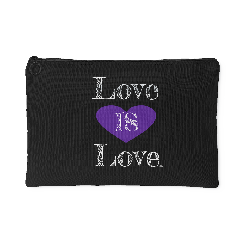 Love Is Love | Inspirational Quote Pouch - Audio Swag
