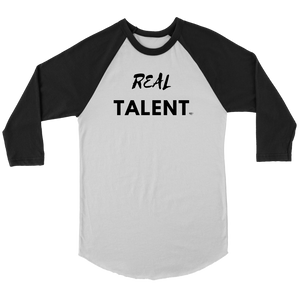 Real Talent Raglan - Audio Swag