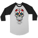Sugar Skull Audio Swag Raglan - Audio Swag