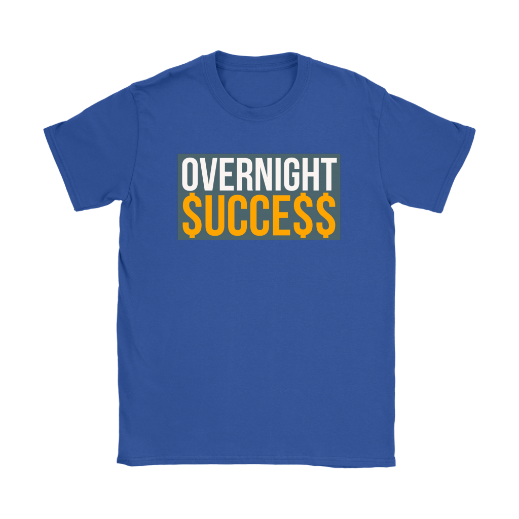 Overnight Success Ladies T-shirt - Audio Swag