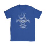 Faith Love Loyalty Skull Ladies T-shirt - Audio Swag