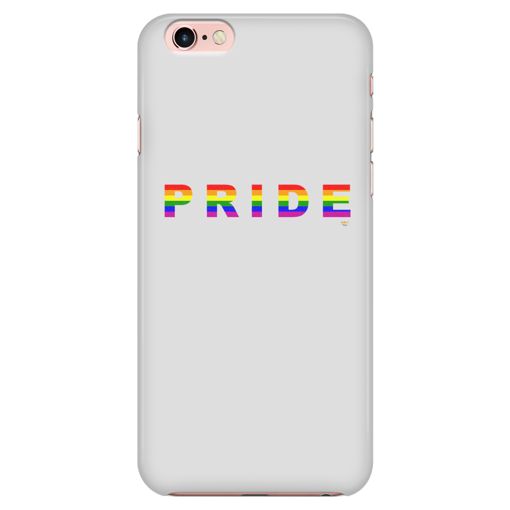 Pride Rainbow iPhone Phone Case - Audio Swag