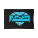 Good Vibes Diamond Large Accessory Pouch - Audio Swag