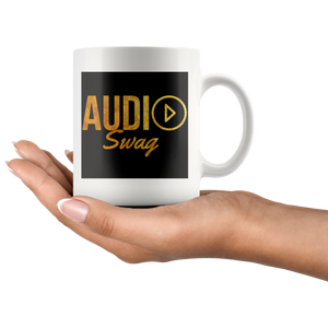 Audio Swag Gold Logo Mug - Audio Swag