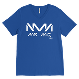 Mr. Mig Logo Mens V-neck T-shirt - Audio Swag