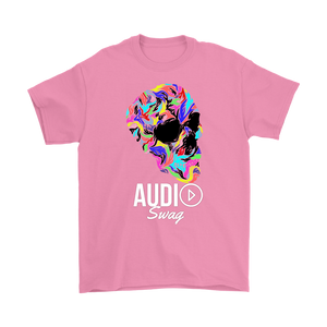 Bright Skull Mens T-shirt - Audio Swag