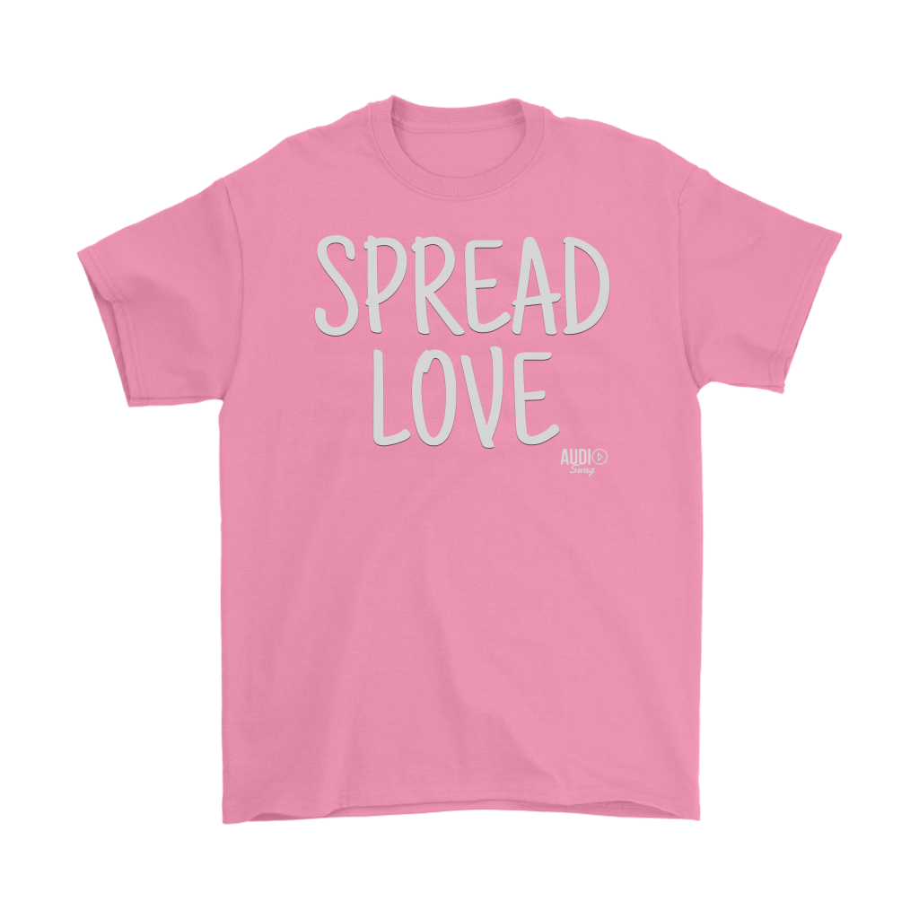Spread Love Mens T-shirt - Audio Swag