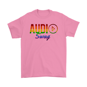 Audio Swag Pride Logo Mens Tee - Audio Swag