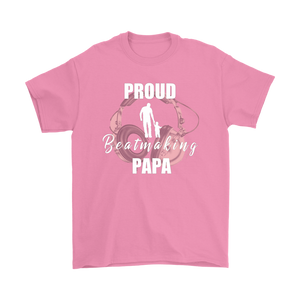 Proud Beatmaking Papa Mens Tee - Audio Swag