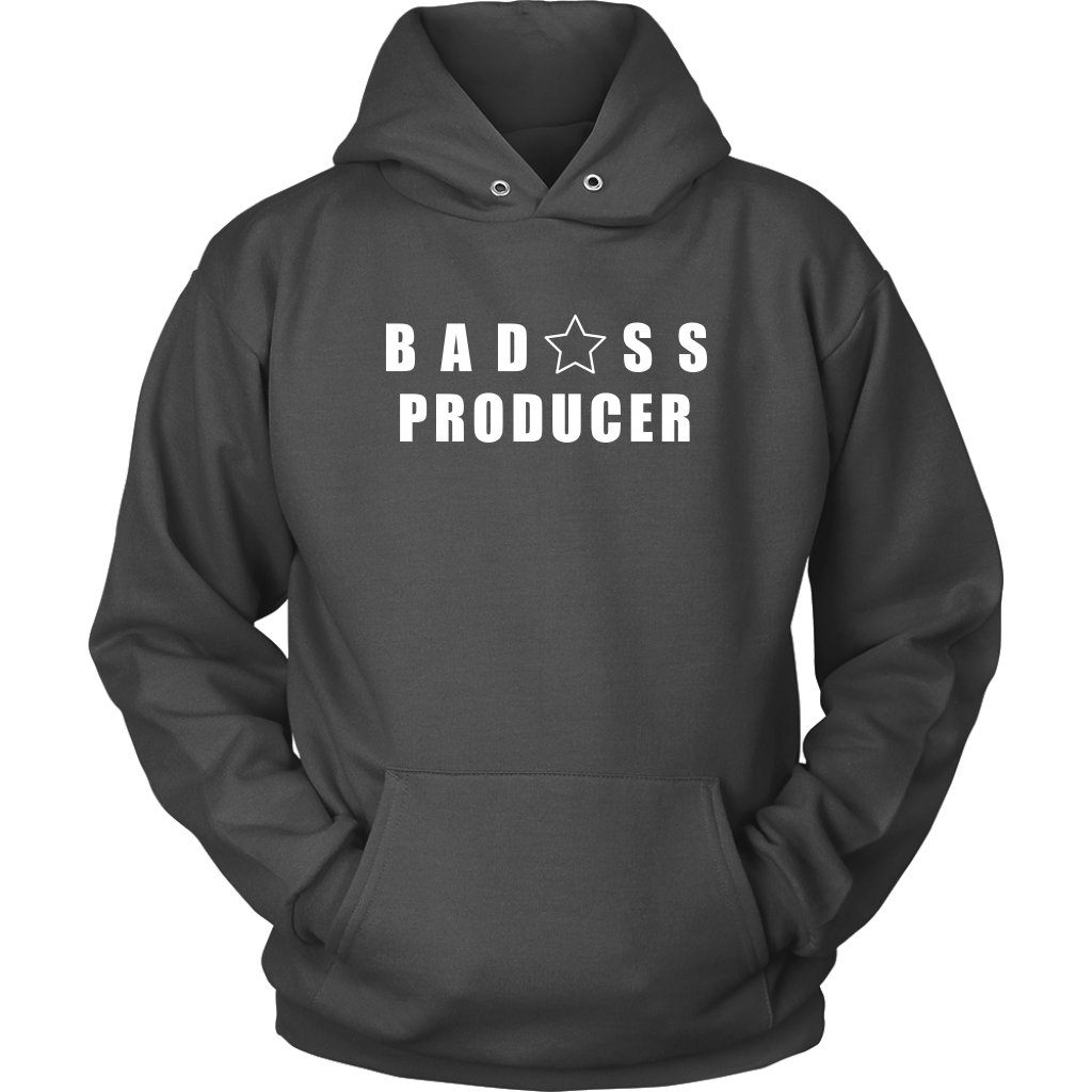 Bad@ss Producer Hoodie - Audio Swag