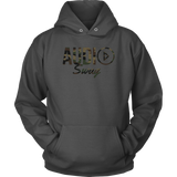 Audio Swag Camo Logo Hoodie - Audio Swag