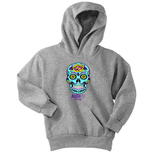 Sugar Skull Rose Youth Hoodie