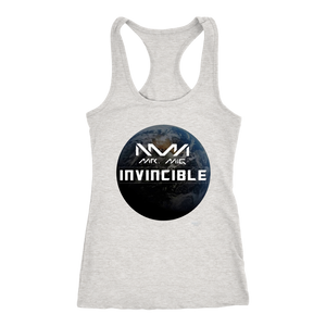 Mr Mig Invincible Ladies Racerback Tank - Audio Swag