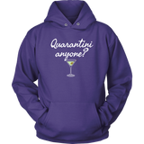 Quarantini Anyone? Hoodie - Audio Swag