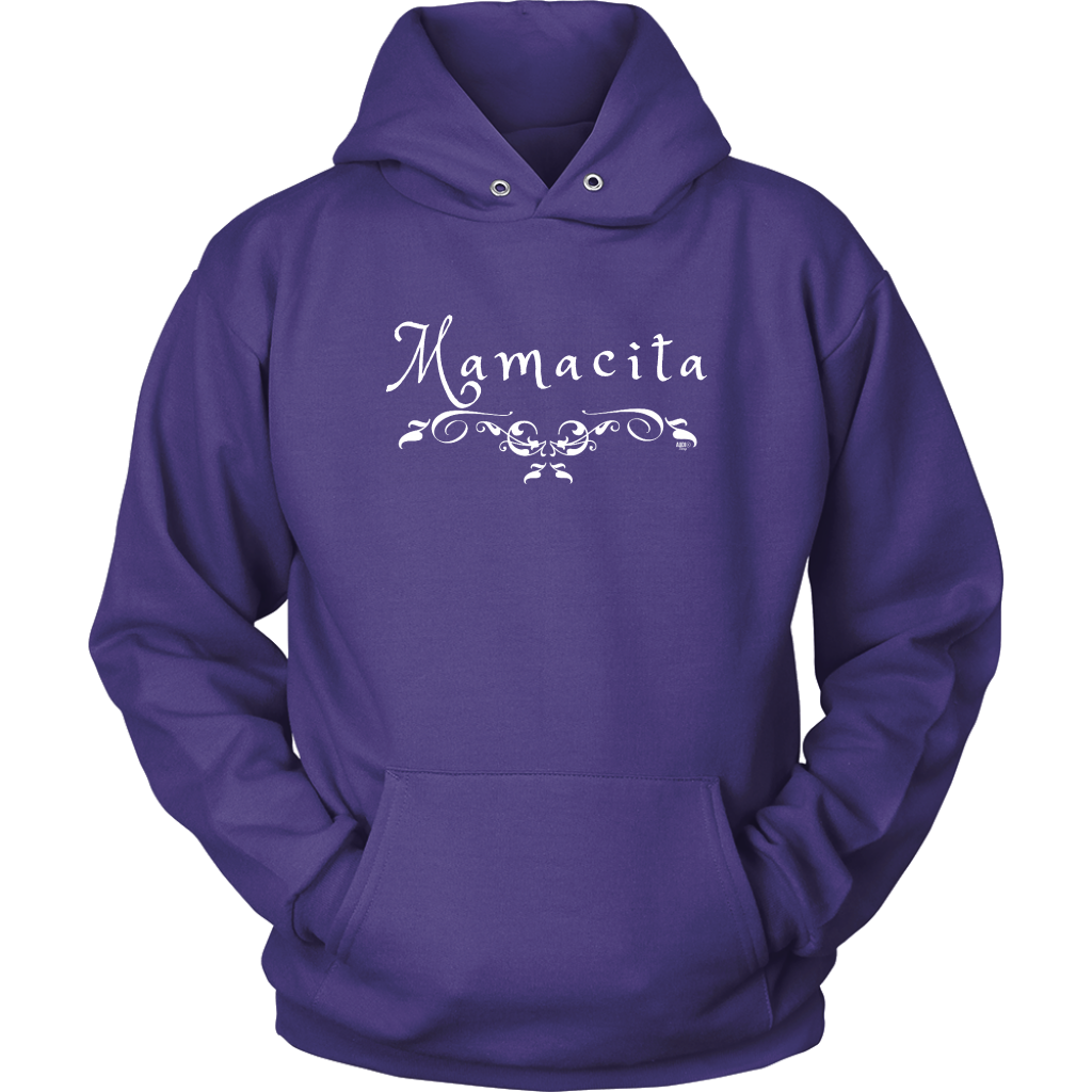 Mamacita Scroll Hoodie - Audio Swag