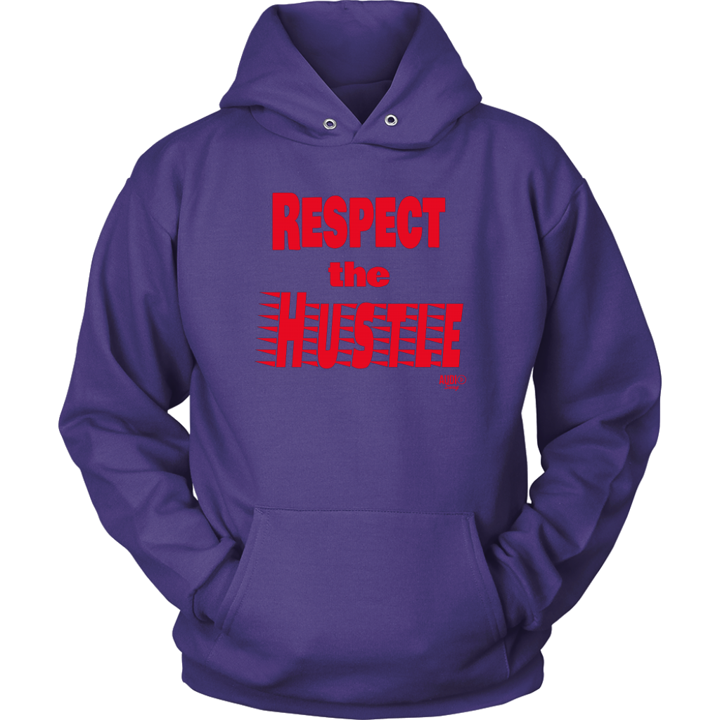 Respect The Hustle Hoodie - Audio Swag