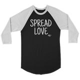 Spread Love Raglan - Audio Swag