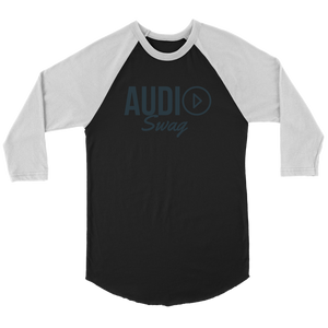 Audio Swag Dark Logo Raglan - Audio Swag