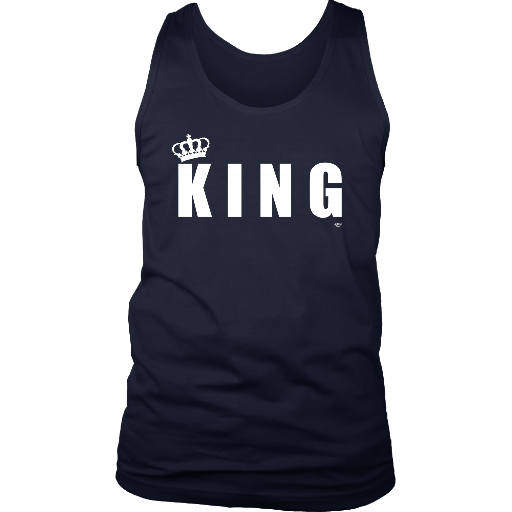 King Mens Tank Top - Audio Swag