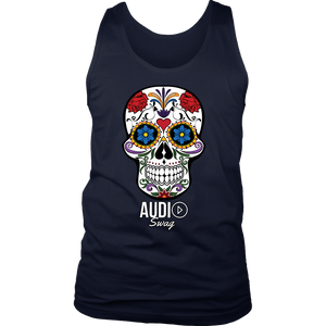 Sugar Skull Audio Swag Mens Tank Top