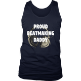 Proud Beatmaking Daddy Mens Tank Top - Audio Swag