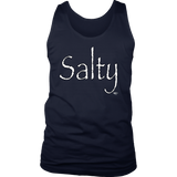 Salty Mens Tank Top - Audio Swag