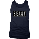 Beast Mens Tank Top - Audio Swag