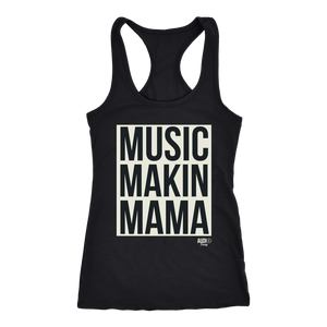 Music Makin Mama Ladies Racerback Tank Top