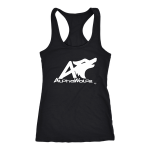 AlphaWolfe Ladies Racerback Tank Top - Audio Swag