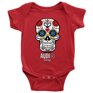 Sugar Skull Audio Swag Baby Bodysuit
