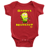 Daddy's Monster Baby Bodysuit - Audio Swag