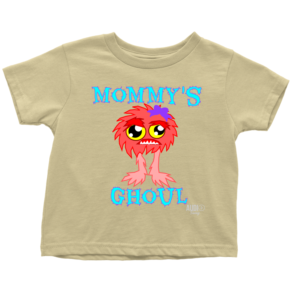 Mommy's Ghoul Toddler T-shirt - Audio Swag