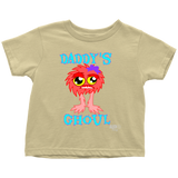 Daddy's Ghoul Toddler T-shirt - Audio Swag
