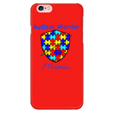 Autism Warrior Mama iPhone Phone Case - Audio Swag