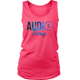 Audio Swag Cosmo Logo Ladies Tank Top - Audio Swag