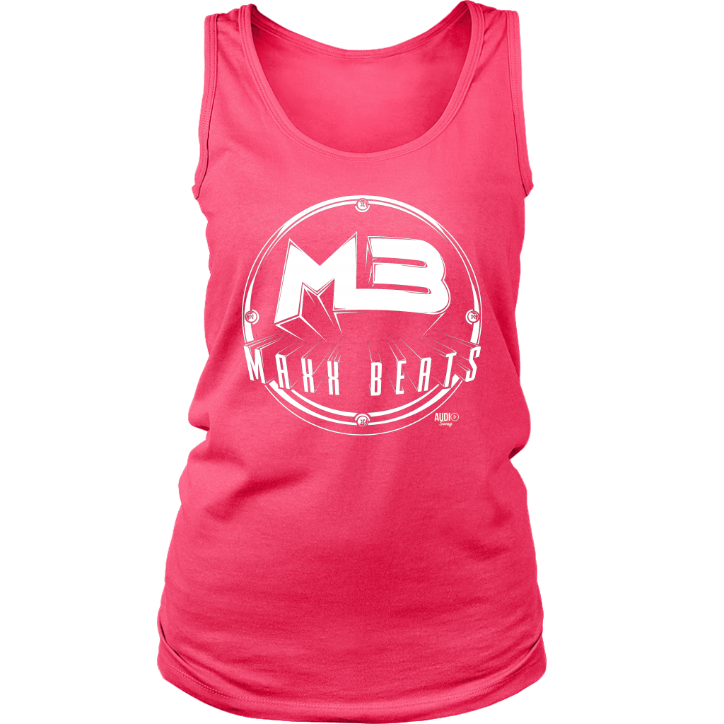 MAXXBEATS Vintage Logo Ladies Tank Top - Audio Swag