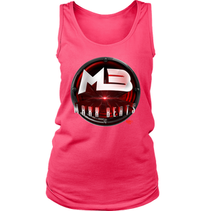MAXXBEATS Laser Logo Ladies Tank - Audio Swag