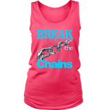 Break The Chains Ladies Tank Top - Audio Swag