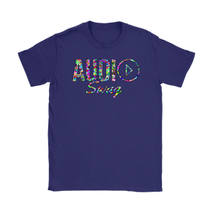 Audio Swag Geometric Logo Ladies T-shirt - Audio Swag