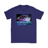 Classic Drum Machine Ladies Tee - Audio Swag