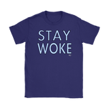 Stay Woke Ladies T-shirt - Audio Swag