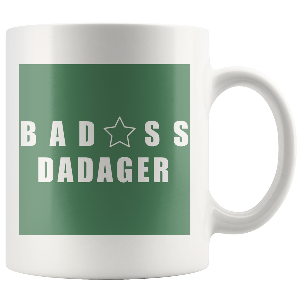 Bad@ss Dadager Mug - Audio Swag