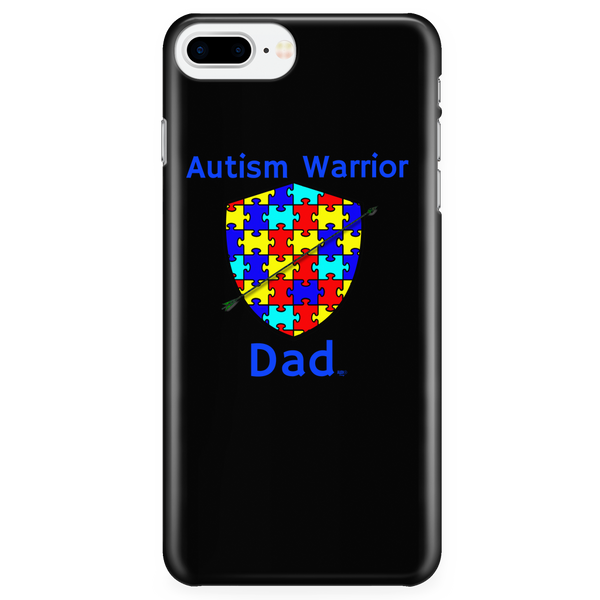 Autism Warrior Dad iPhone Phone Case - Audio Swag