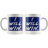 I Will Win Mug - Audio Swag