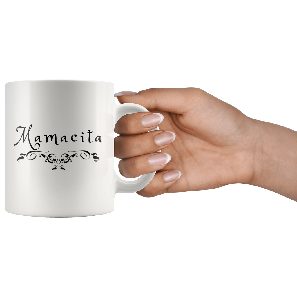 Mamacita Scroll Mug - Audio Swag